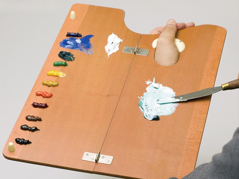 絵具の混色
