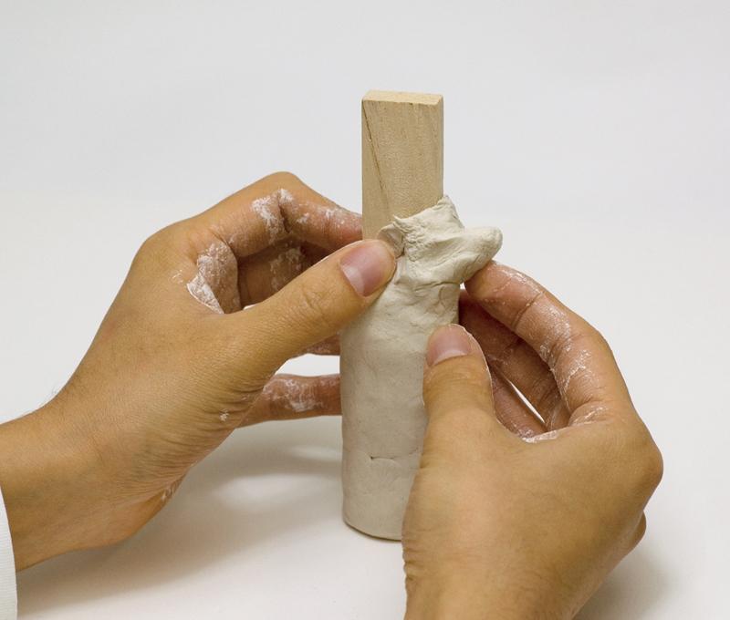成形には芯材を用いることができます