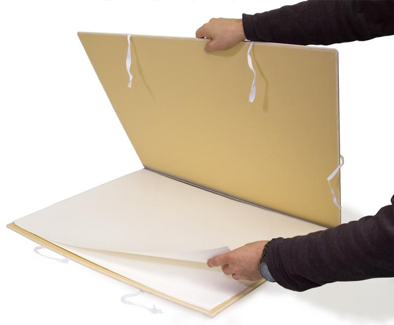 保管用紙ばさみとして使用