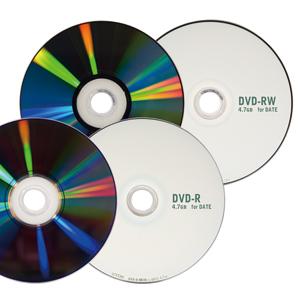 DVD-R・DVD-RW