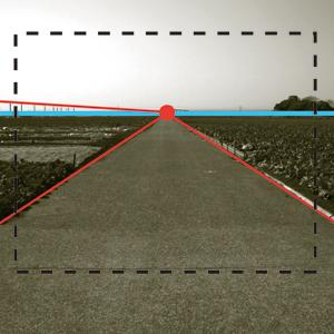 透視図法(線遠近法)