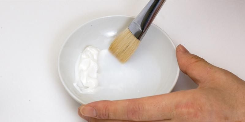 メディウムを水で溶く