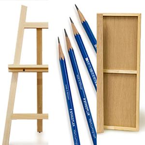 鉛筆デッサン用具