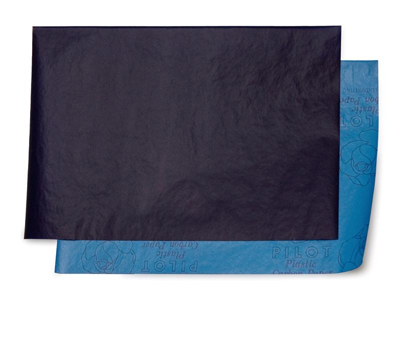 上:着色剤塗布面 下:原紙面