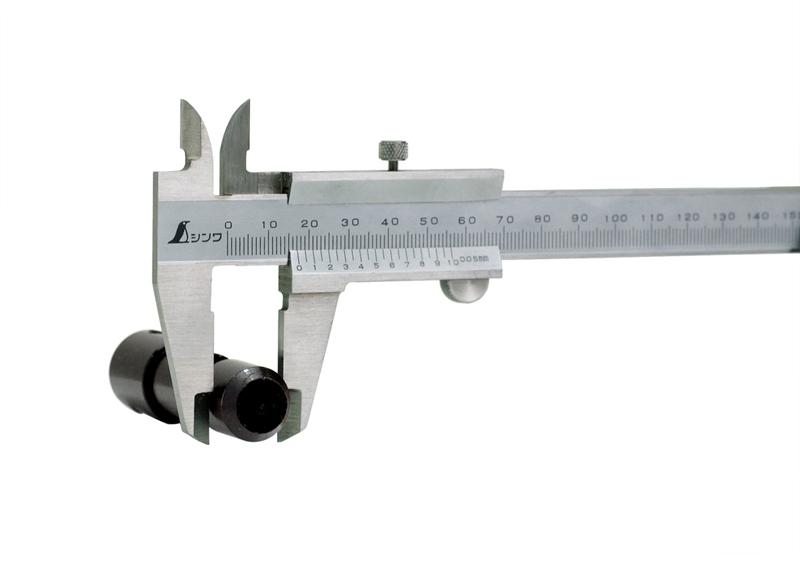 外径を測る