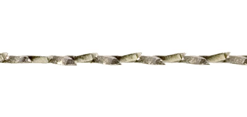 アサリ(ノコギリの刃を正面から見ると、刃が左右交互に開いて並んでいます)