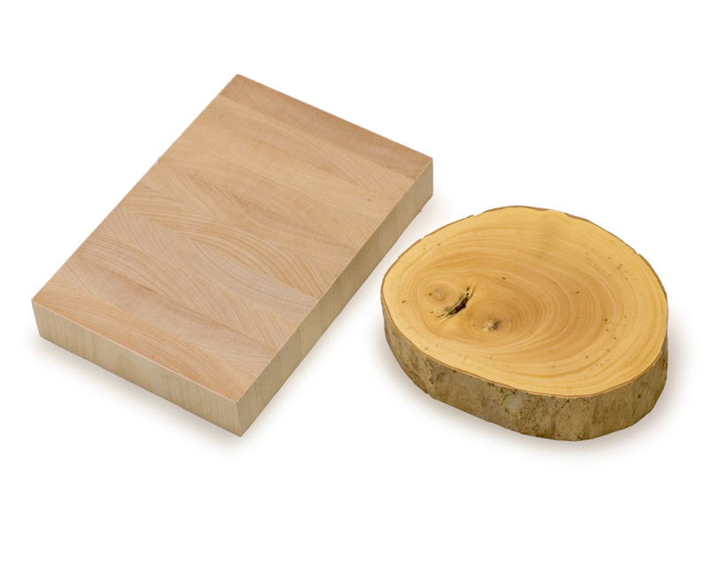 木口木版用版木
